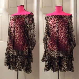 New silk Roberto Cavalli tunic/dress, limited ed.